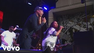 "Lalah Hathaway and Pharrell Williams perform ""Surrender"" from Hidde..."