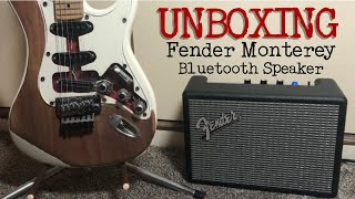 UNBOX Fender Monterey Bluetooth Speaker