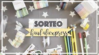 Haul AliExpress + SORTEO CERRADO