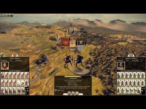Total War: Rome II - Ambush tactics & Field Battle |