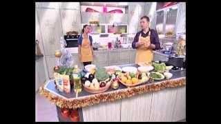 """Жанна Фриске в программе """"Смакуємо"""" (Эфир от 20.12.2009)"""