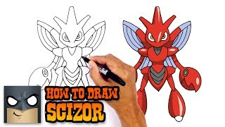 How to Draw Scizor | Pokemon