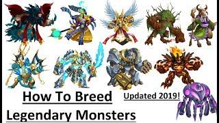 Wie Zu Züchten Legendären Monster Legends Aktualisiert 2019 l Holen Legendären Monster, das Durch die Zucht