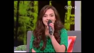 Arabic girl singing hindi songs (Arab idol winner)
