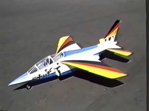 First European Ducted Fan Fly In Genk Belgium July 1988