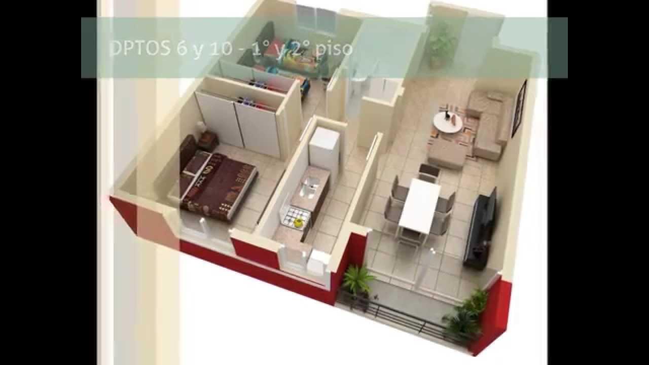Edificio construcciones 12 planos 3d de todas las for Planos 3d