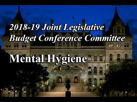 2018-19 Joint Legislative Budget Conference Committee on Mental Hygiene -  03/22/18