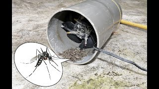 Processing a simple mosquito trap effectively