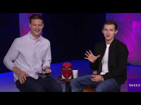Spider-Man: Homecoming | Tom Holland interview for Yahoo Movies