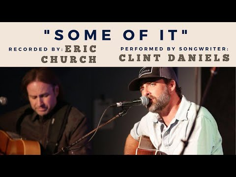 """Clint Daniels performing """"Some Of It"""" (recorded by Eric Church) at Backstage Nashville!"""
