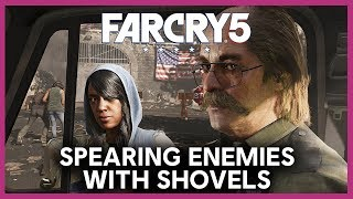 Far Cry 5: Taking Down Outposts With A Shovel | Ubisoft [NA]