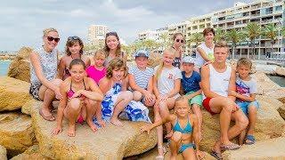 Дети Востока Украины в Торревьехе. Благотворительная акция