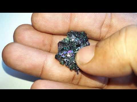 معدن الكربوراندوم(كربيد السلكون) Silicon Carbide..Carburendom