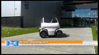 Flexible EO Smart Connecting Car 2 can drive sideways and shrink