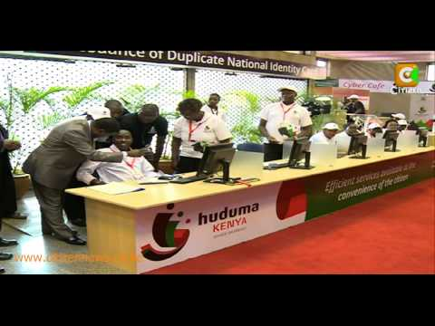 President Kenyatta Launches Huduma Kenya Initiative