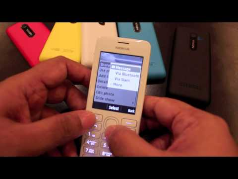 Nokia Asha 206 Hands-On