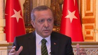 لقاء العربية مع الرئيس التركي اردوغان