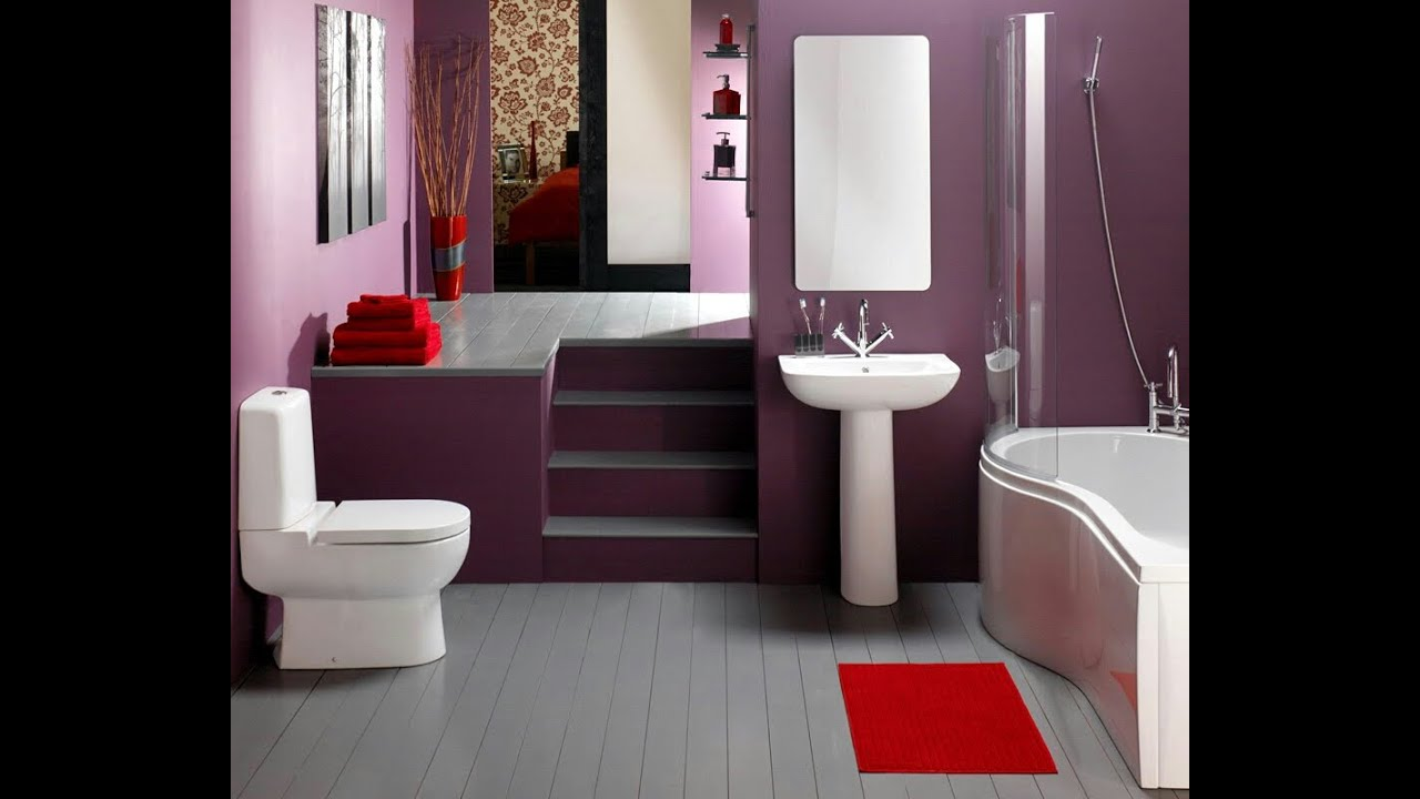 Home Beautiful Decor: Simple Bathroom Design Ideas
