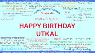 Utkal   Languages Idiomas - Happy Birthday