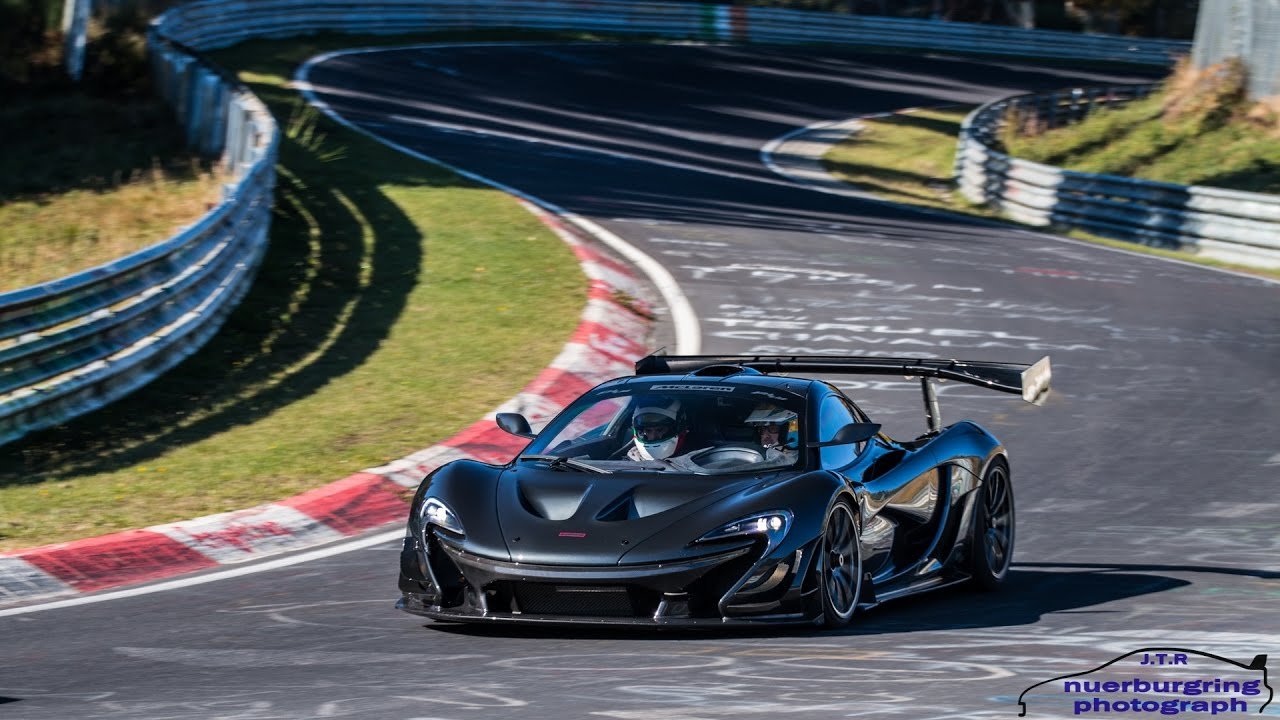 mclaren p1 lm on the nürburgring nordschleife | driving, pictures
