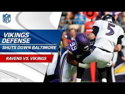 Minnesota's Defense Shuts Down Baltimore! | Ravens vs. Vikings | Wk 7 Player Highlights