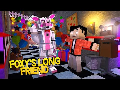Minecraft Fnaf: Sister Location - Funtime Foxys Long Lost Friend (Minecraft Roleplay)