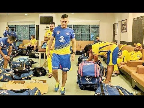 Chennai Super Kings 2018 I Inside Dressing Room | Vivo Ipl Funny videos