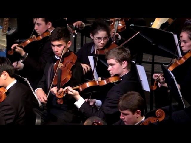 04 DHS Chamber Orchestra Air and Hornpipe from Water Music Suite Handel
