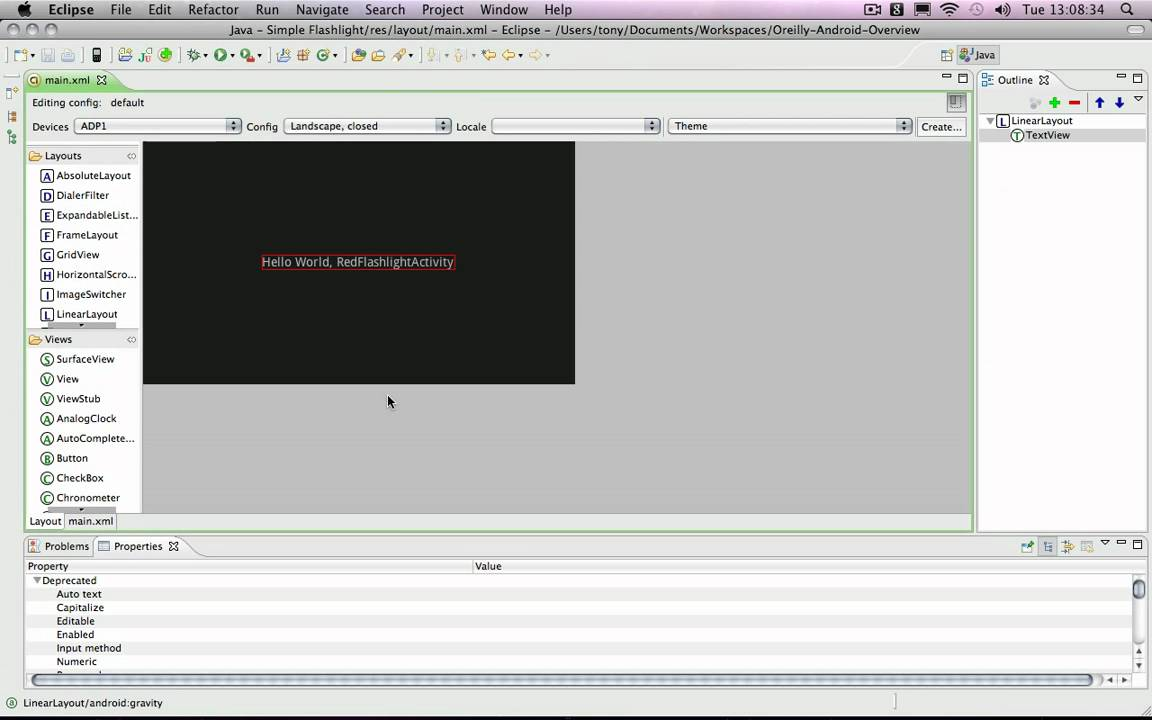 Developing android apps with java build a flashlight app youtube ccuart Choice Image