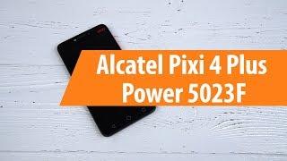 Розпакування телефону Alcatel зоопарк 4 плюс харчування 5023F / розпакування Алкатель зоопарк 4 плюс харчування 5023F