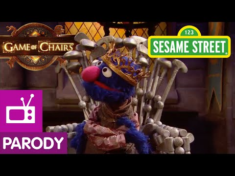 Sesame Street: Game of Chairs (Game of Thrones Parody) - YouTube