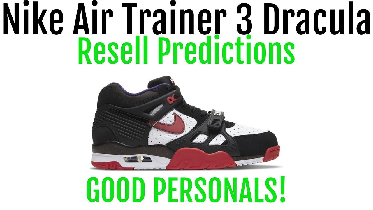 Nike Air Trainer 3 Dracula Halloween