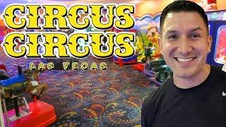 Exploring the Circus Circus arcade in Las Vegas!