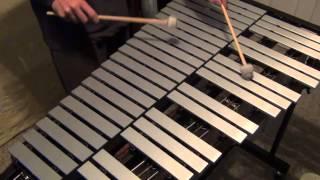"""Autumn Leaves"" Improv Jazz Vibraphone Solo"