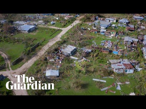Cyclone Harold: Aerial footage shows destruction across Vanuatu