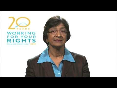 Human Rights Day 2013 - Navi Pillay, UN High Commissioner for Human Rights