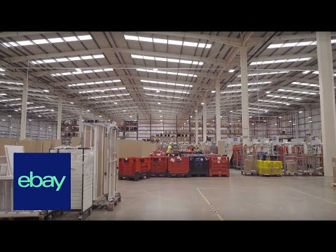 A Look Inside The Global Shipping Programme Warehouse | EBay For Business UK Official | Sell On EBay