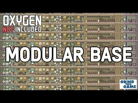 Modular Base Design - Send Me Your Base Designs / Screenshots - Oxygen Not Included [4k]