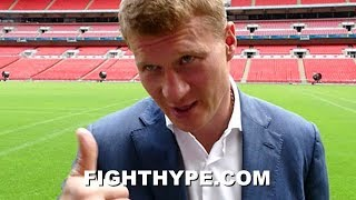 POVETKIN KEEPS IT REAL ON JOSHUA-WILDER FAILED NEGOTIATIONS AND OPPORTUNITY TO UPSET PLANS