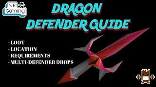 OSRS - DRAGON DEFENDER GUIDE - ALL INFORMATION IN ONE SPOT