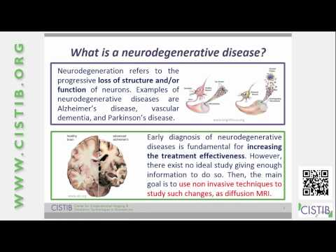 Early detection of neurodegenerative diseases with diffusion MRI