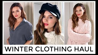 WINTER TRY ON CLOTHING HAUL   Niomi Smart