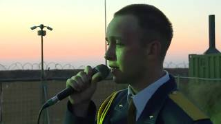 Բելորուս զինվորականի հուզիչ կատարումը հայերեն լեզվով․ Չունի աշխարհը քեզ նման