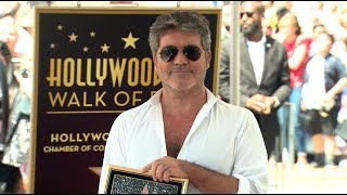 Simon Cowell Star on the Hollywood Walk of Fame