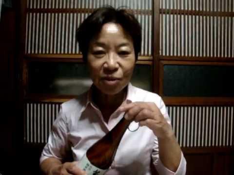 酒まるとみしょうこ女将の今夜の家呑み一分間 萬寿鏡特別純米酒編