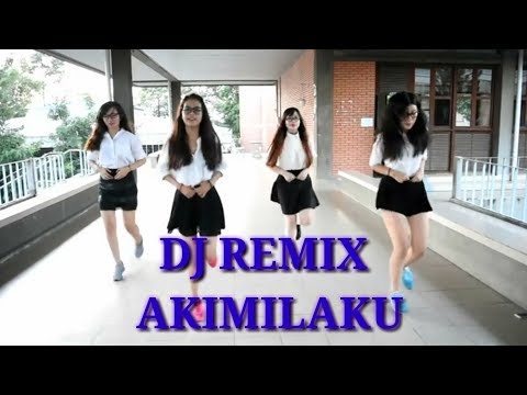 DJ remix akimilaku + pokemon ( dance girl )