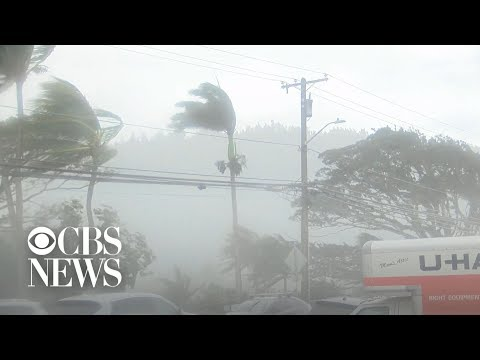 Winter storm makes dangerous waves in Hawaii