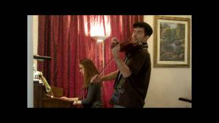 Dan and Melissa David - Fur Elise - Celtic Violin Piano Mix