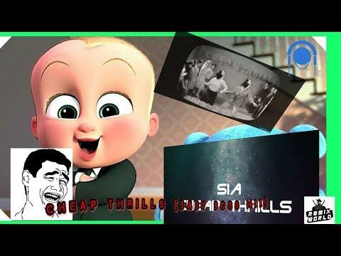 Sia - Cheap Thrillsft Paul | Animated Video | Dancing Baby | Minions | Baby Boss