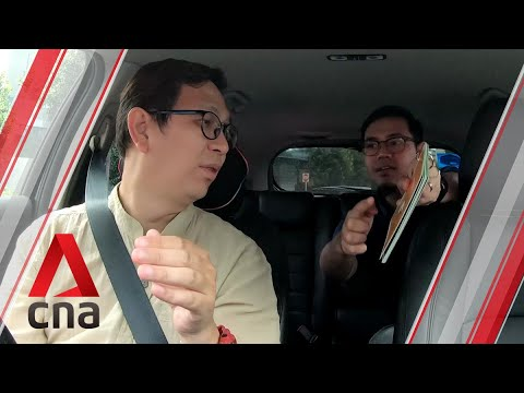 On the road with a deaf Grab driver in Singapore